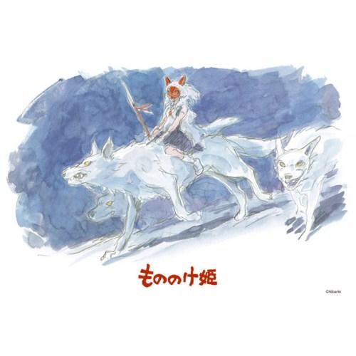 もののけ姫 ジグソーパズル108ピース【山犬の姫】108-280