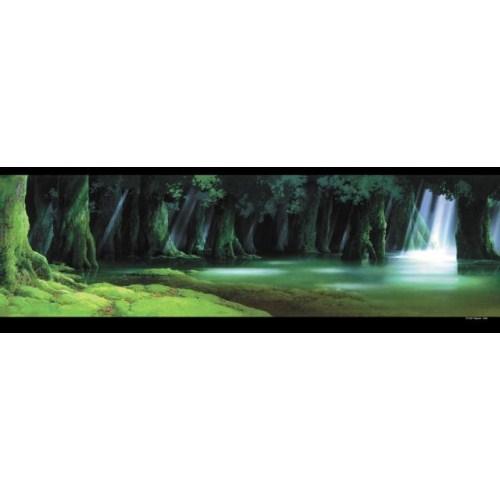 ジブリ 背景美術シリーズ ジグソーパズル950ピース【もののけ姫 シシ神の森】950-203
