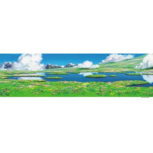 ジブリ 背景美術シリーズ ジグソーパズル950ピース【ハウルの動く城 ハウルのひみつの庭】950-204