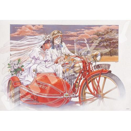 ふしぎの海のナディア ジグソーパズル1000ピース【ナディアとジャン】1000T-174