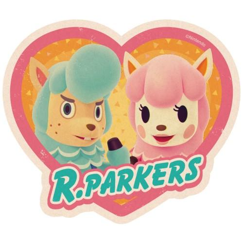 どうぶつの森 トラベルステッカー / R・パーカーズ(3)