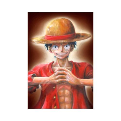 ワンピース ジグソーパズル300ピース【肖像画『モンキー・D・ルフィ』】300-1378
