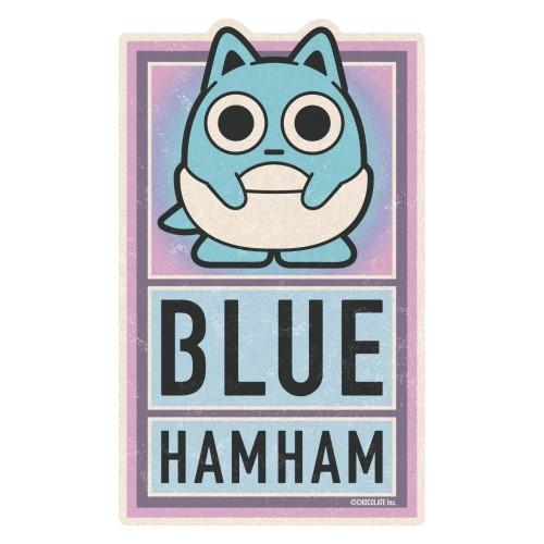 ブルーハムハム トラベルステッカー /(6)Baby hamham