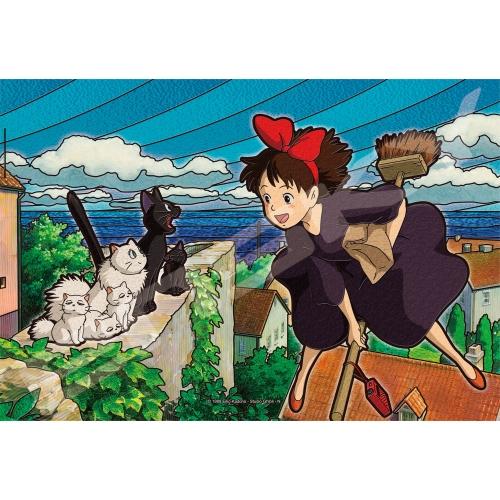 魔女の宅急便 アートクリスタルジグソーパズル300ピース【コリコの町が好き!】300-AC046